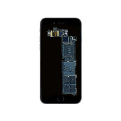 iPhone 7 reparation av logikkort