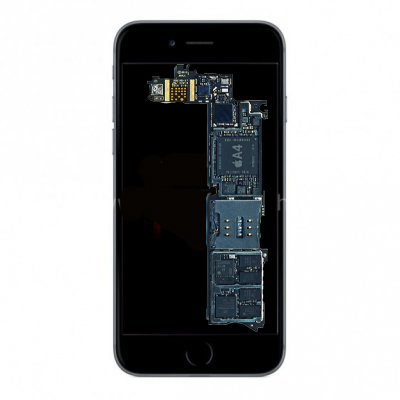 iPhone 6S Plus moderkort reparation
